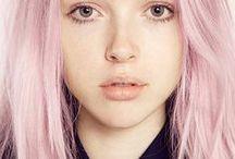 Pastel Hair / pastel ✦ pastel hair ✦ pastel pink hair ✦ lavender hair ✦ pink hair ✦ hair chalk ✦ purple hair ✦ lilac hair ✦ rose gold hair ✦ cotton candy hair ✦ blue hair ✦ orange hair ✦ dip dye ✦ hair colouring ✦ rose gold hair