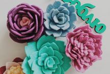 Felt features by @just_felt / Here you could find all my unique handmade felt features like toys, brooches, decorative letters, flowers etc. more details on instagram @just_felt - enjoy!!! #just_felt #feltbyjustfelt