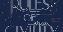 The Expat Book Club | Rules of Civility / Book Club Ideas