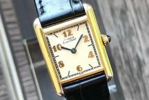 Vintage Cartier Watches / Looking for a vintage Cartier watch? We've got you covered. Here's a sneak peek what we've got in our store. Take a look at our website for the product range at the moment.