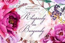 Watercolor Blumen / Watercolor Blumen
