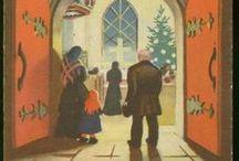Joulukortteja / Joulukortteja, ideoita kortteihin ja vintage-kortteja.   ( joulukortit, kortit, ideat, vintage )