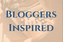 Bloggers Inspired / There are so many wonderful blogs out there which might not fit a category of my usual boards, but I still want to share them.