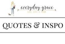 Quotes & Inspiration / they'll get you thinking
