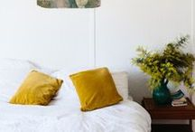Interiors - sleep / Sleeping, a place to relax.  Bedrooms, a haven and boudoir / by Lou Archell | littlegreenshed