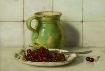 Art to Inspire :: Still Life / Still-life paintings of all types that capture my fancy...
