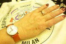 my wristwatches / Tutti i miei orologi.