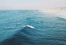 ocean home. / the ocean and summertime