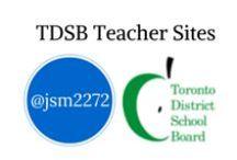 TDSB School and Teacher Websites / Examples of TDSB teachers online.