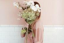 Interiors - blush pink / Blush pink, dusky, hued.  Beautiful interiors with a blush.