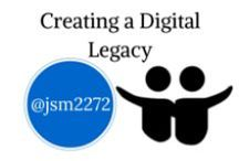 "Creating a Digital Legacy / Examples of how students have created a ""digital legacy"" - to use with Digital Citizenship resources via @jsm2272"