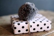 wrap it up / Gift wrapping inspiration / by Lou Archell | littlegreenshed