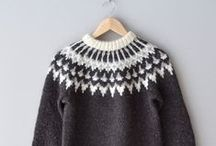 ~cosy winter knits~ / Fairisle, cashmere, merino, christmas - an ode to sweaters / by Lou Archell | littlegreenshed