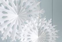 Christmas decorations / A round up of beautiful ways to decorate your home