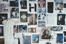 PRINT PHOTOS & MAKE PHOTO WALLS / I'm a big believer in printing photos and displaying them.