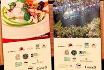 """""""A Taste of British Columbia""""  Shanghai featuring Canadian Beef / """"A Taste of British Columbia"""" BC VQA Wine and Agri-food Dinner at Four Seasons Shanghai March 19, 2015"""