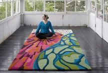 Rug / Tapestries / Luxury, one-of-a-kind pieces from modern designer angela adams in Portland, Maine.