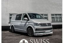 WASP vans / Swiss Vans Ltd - Home of the WASP (Wheels and Styling Package).  Bespoke VW Transporters and Ford Transit Custom