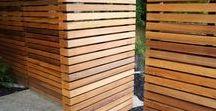 Ploty a dřevěné stěny