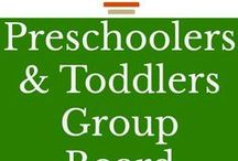 Preschoolers & Toddlers / Preschoolers and Toddlers – crafts, parenting, activities, chores, development, snacks, traveling etc.  Anything and everything that parents may want to know to help with raising toddlers and preschoolers.  G-rated, pretty-vertical pins only.  Please pin one pin from the board for every pin you add.  This helps the board to remain high in Pintere's algorithms.  Like me on pinterest at www.pinterest.com/ourhappyhive and send me an email at workerbee [at] ourhappyhive.com to join!