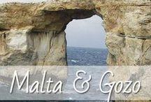 Malta & Gozo / Malta ist eine kleine Insel im Mittelmeer, die sich fantastisch für Urlaub eignet. Die Hauptstadt Valletta ist wunderschön, es gibt tolle Strände und jede Menge Sehenswürdigkeiten und die Nachbarinsel Gozo ein wahres Naturparadies.