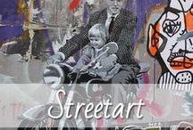 Streetart / Streetart ist eine für jedermann zugängliche Kunst im öffentlichen Raum, also auf Mauern Straßenwänden etc. Streetart ist vielfältig und kreativ und erlebt durch echte Künstler wie Banksy gerade einen echten Hype. Zu Streetart zählen Graffiti in den verschiedensten Formen, Sticker, Kacheln, 3D / Styrodur, Stencil und noch vieles mehr. Die schönsten Bilder und Motive, die mir auf meinen Reisen begegnet sind, findet ihr auf meinem Blog.