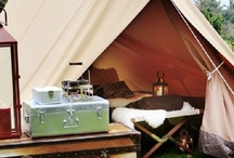 Glamping / Glamping how to's even if you don't have a trailer.  / by Angela Croissant