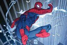 """Superheroes / Super-heróis / Uma das minhas maiores paixões é a nona arte, quadrinhos. O mundo de fantasia """"ou não"""" dos heróis e vilões me fascina.  / by Júlio Martir"""