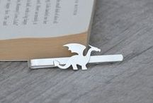 Pins / Tie Tacks / Tie Clips / Handmade lapel pins, tie tacks and tie clips by HuiyiTan