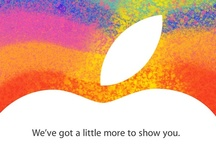 Apple invitations / iPhone, iPad and other media events hosted by Apple through the years