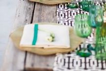TABLE SETTING colorful