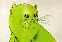 Cats. / I am the crazy cat lady.