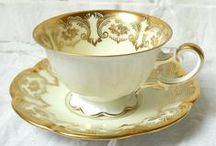 Tea Cups / A collection of tea cups.