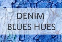 Denim Blue Hues / Fall 2014 Inspiration and more...