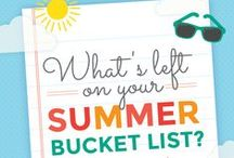 Ultimate Summer Bucket List / Show us what's left on your summer bucket list by creating the Ultimate Summer Bucket List Pinterest board! Follow the simple instructions on the contest pin (below) to be entered to win the ultimate summer accessories from National Watermelon Promotion Board.  Get more details: http://watermelon.org/summer-bucket-list/