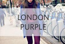 London Purple / it's all about pop color.