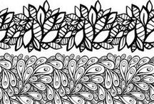 Doodle & Drawing Inspiration / #doodles #drawing #line art