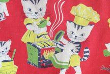 Vintage Hankies & Tea Towels / by Rebecca Baker