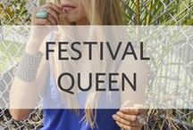 ASTARS Festival Queen / Our boho look book for the festival queen!