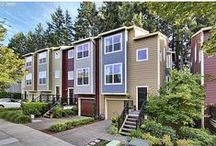 """Adlington Lane / A townhouse in Orenco that we purchased as a """"short sale"""" in 2013. It was a wreck to say the least. With a lot of time and hard work we made it our home for 2 years. / by Angela Croissant"""