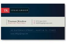 Professional Business Cards / Customizable business card designs that you can personalize with your professional information.
