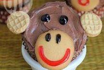 Ideias para festa infantil / Encontre ideias incríveis de bolos de aniversário, doces e salgados para a festinha da criançada.
