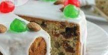 Pães, bolos e biscoitos de Natal / Encontre receitas de panetones, bolos confeitados, bolos de frutas secas, biscoitos amanteigados e decorados para a sua ceia de Natal e para presentear a família!
