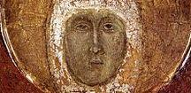 """Santa Margherita da Cortona / Nata nel 1247, morta a Cortona il 22 febbraio 1297. Francescana, del Terz' Ordine secolare. Grande mistica. Considerata, già in vita, come """"La terza Luce"""" del Francescanesimo, dopo San Francesco e Santa Chiara: rappresentante delle possibilità di santificazione dei laici."""