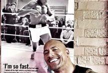 "Dwayne Johnson / Dwayne ""The Rock"" Johnson (born May 2, 1972 in Hayward, California) is an American actor Bodybuilder  Gym guy hot men sexy"