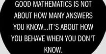Math Teacher Quotes / Quotes to inspire math teachers to achieve greatness.