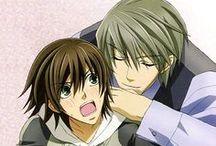 Usami ♥ Misaki / Animé / Manga : Junjou Romantica