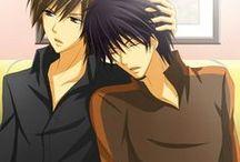Nowaki ♥ Hiroki / Animé / Manga : Junjou Romantica (Junjou Egoit)