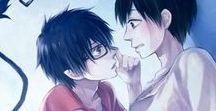 Yukio ♥ Rin / Animé : Blue Exorcist (Non Yaoi)