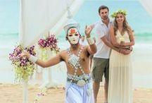 Destination Wedding / Dicas sobre Destination Wedding. Aqui dou dicas de como organizar um casamento no exterior. Casamento na praia. Beach wedding. Casamento budista na Taiândia.